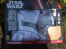 Childs Star Wars Fancy Dress Costume Stormtrooper