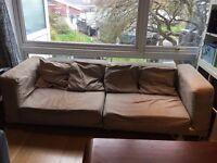 FREE IKEA 3 seater sofa with 4 matching sofa cushions