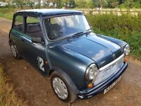 1990 / H Rover Mini Studio 2 998 cc Classic Car 53400 Miles Full Mot Until July 2019