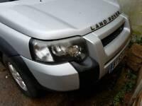 Land Rover Freelander Face lift model. Diesel Auto