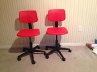 2 swivel chairs for kids/teens from ikea