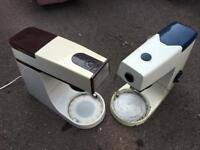 Vintage Collectable Kenwood Chef x2