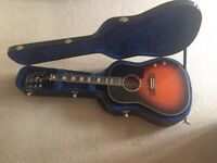 John Lennon guitar EJ-160E/VC with hard case
