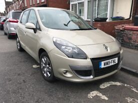 Renault Scenic 2011 1.5 Diesel Automatic