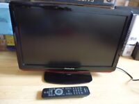 philips lcd tv 19 inch perfect for childs bedroom caravan motorhome kitchen