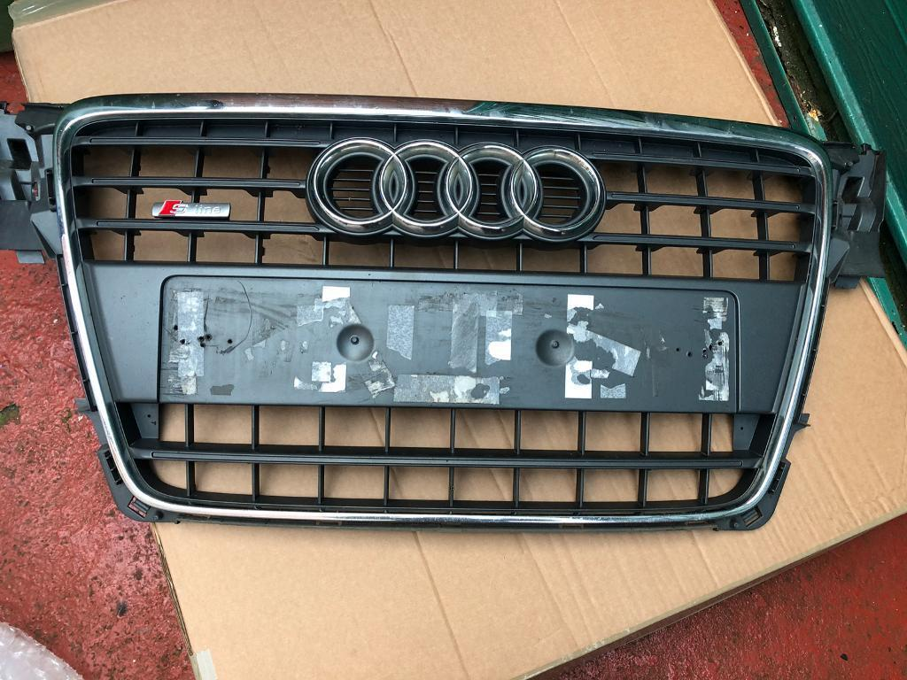 Audi A4 S Line Front Grill B8 Model Genuine Part