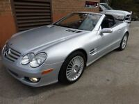 2007 Mercedes-Benz SL550 A.M.G PKG -- PANORAMA GLASS ROOF - -CAN