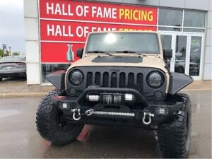 2016 Jeep WRANGLER UNLIMITED WHELLY'S EDITION, LIFT KIT, TOWING
