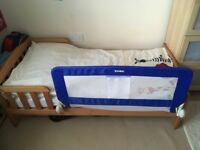 Mothercare wooden toddler bed frame (plus mattress if wanted)