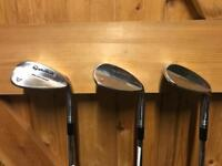 Taylormade Spin Milled Golf Wedges 52 56 60 Right Handed - VGC