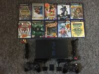 PlayStation 2 with 10 Games and 2 controllers *!!URGENT SALE!!*