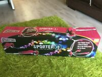 Brand new still in box Sporter Scooter with light up wheels