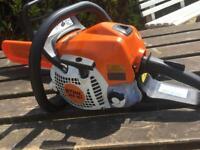 Stihl ms181 petrol power chainsaw