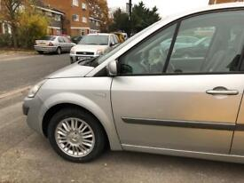 Renault Scenic 57 reg half leather seats 1 year of mot drives well