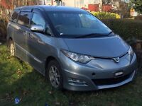 Toyota Estima Petrol 4x4 with Snow Motion & table inside full Lux