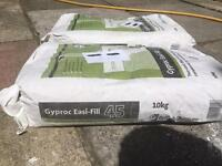GYPROC EASY-FILL X2 10KG BAGS NEW