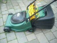 GARDENTEC ELECTRIC ROTARY LAWNMOWER HARDLY USED A1 CONDITION