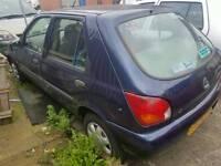 Ford fiesta blue 5 door 1998 1.25 ztec