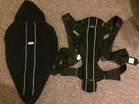 Bjorn Baby carrier and carrier cover