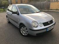 VOLKSWAGEN POLO 1.4 PETROL MANUAL 2004