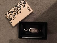 Brand new ladies silver oasis watch