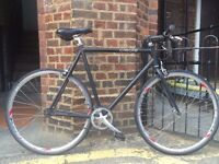 'Create' Single Speed Bike - Good Condition (54cm / 21 inch light aluminium frame)