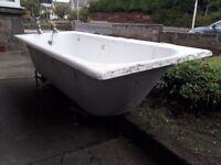 Cast iron bath for sale