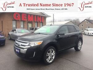 2013 Ford Edge Limited AWD Navi Roof 20's