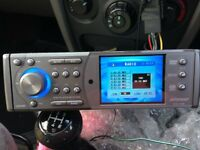 ripspeed 4 inch screen radio/dvd player
