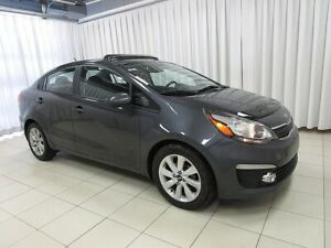 2016 Kia Rio EX GDi. LOADED SEDAN AT AN AMAZING PRICE !! w/ SUN