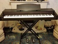 Roland HP1900G Digital Piano, Folding stand & 2x pedals