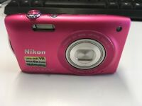 Nikon Cool Pix S3300 Camera for Sale
