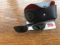 Rayban 3190 sunglasses - in case - hardly used