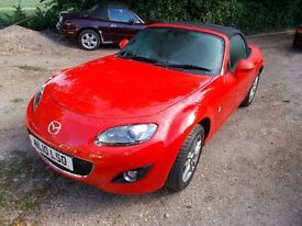 Mx5 mx-5 mx 5 Mk3.5 2010. 1800 I SE. Convertible. Only 24000. Beautiful inside/out but Cat D. (3891)