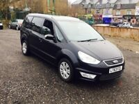 2013 63REG Ford Galaxy 2.0 TDCi Zetec Powershift diesel black**1 OWNER**FULL HISTORY**choice of 10