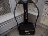titan vibration plate with loads of programes