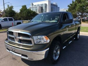 2012 Ram 1500 SLT 4WD 5.7L HEMI V8 6-Speed Auto Short Box Quad C