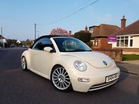 Lovely Volkswagen Beetle Convertible 1.6,NEW MOT,1 Lady owner,VGC