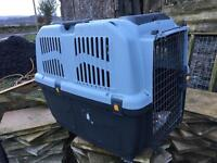 Flight carriers for dogs