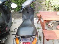 2002 peugeot vivacity scooter unrestricted long mot