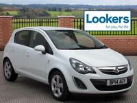 Vauxhall Corsa SXI AC CDTI ECOFLEX S/S (white) 2014-06-28