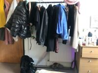 heavy duty clothing rail / clothing rack