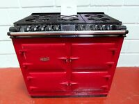 AGA SIX-FOUR DC6 TRADITIONAL COOKER DUAL FUEL MINT CONDITION, RAYBURN