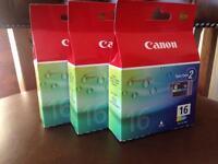 Canon colour ink