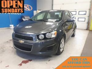 2013 Chevrolet Sonic LT Auto FINANCE NOW!