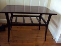 Canadian mahogany side table