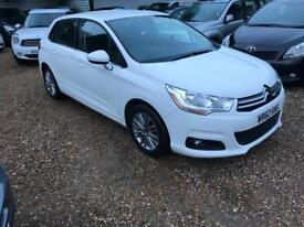 CITROEN C4 1.6 VTR PLUS HDI 5d 91 BHP (white) 2012
