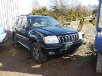 SPARES OR REPAIR JEEP GRAND CHEROKEE NON STARTRER
