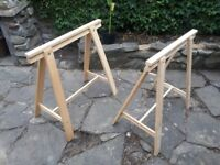 Pair of Desk Trestles