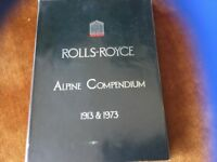 Three collectors books on Rolls Royce and Bently